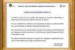 EthicsBusinessConduct